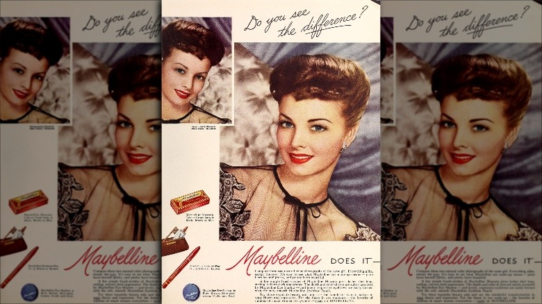 Maybelline ad, 1946