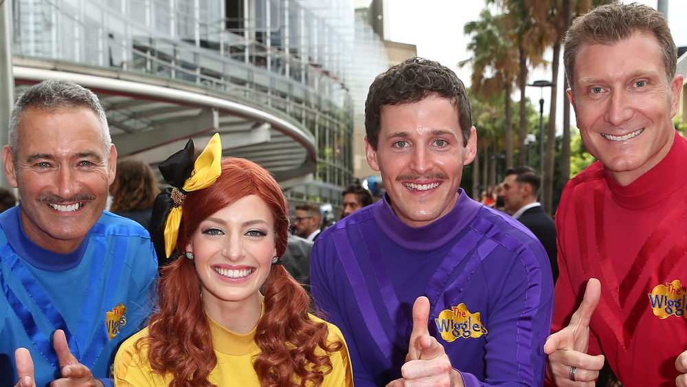 Anthony Field, Emma Watkins, Lachlan Gillespie and Simon Pryce