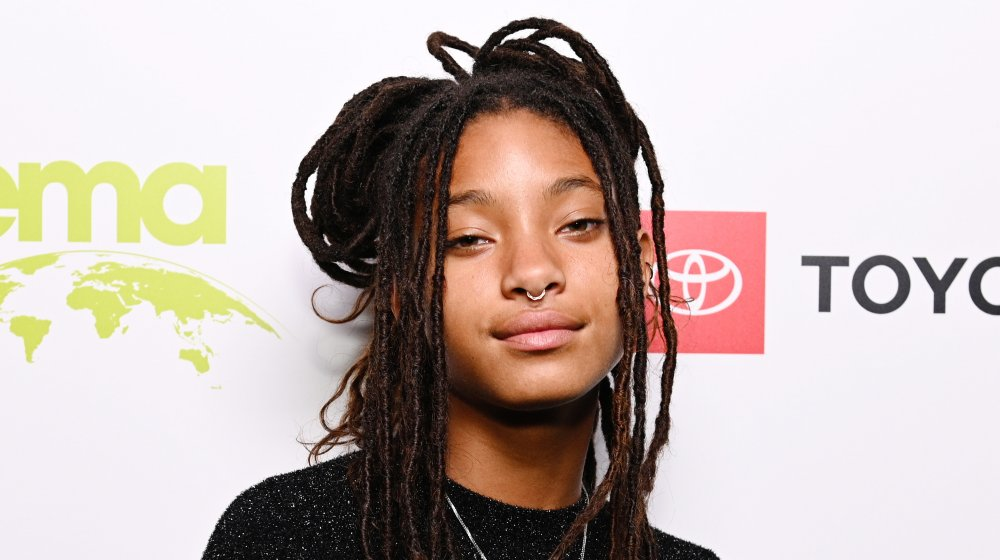 Willow Smith on the red carpet up close