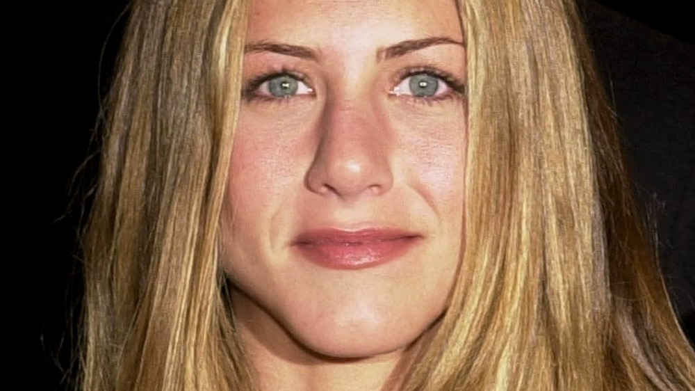 Jennifer Aniston smiling