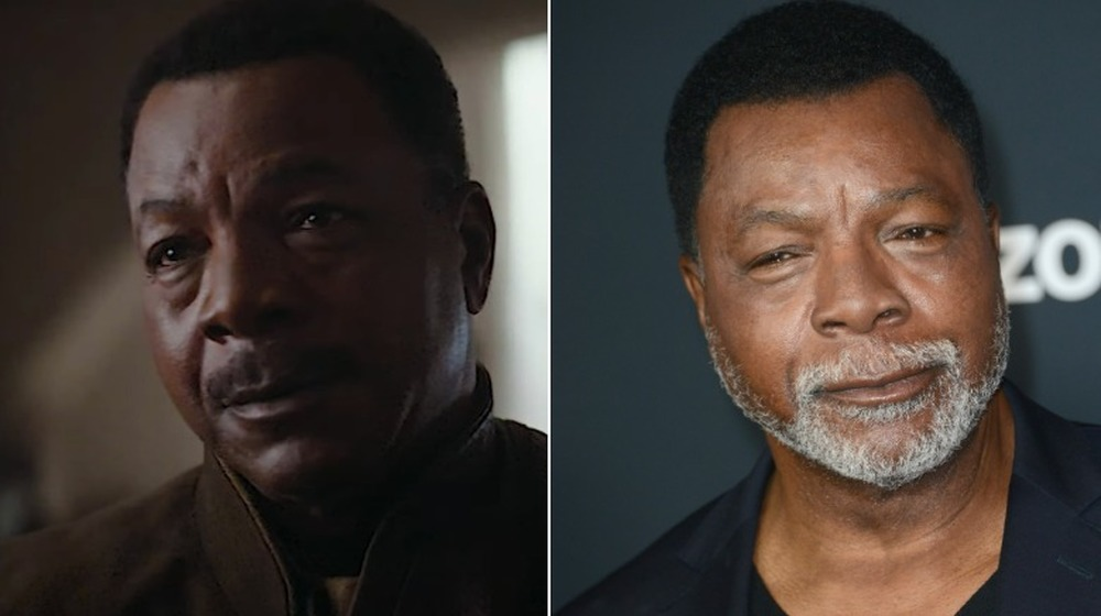 Carl Weathers, split image