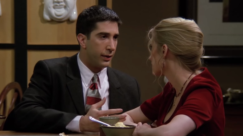 Ross and Carol in Friends