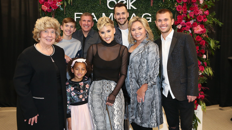 The Chrisley family at Cool Springs Galleria Mall in 2019