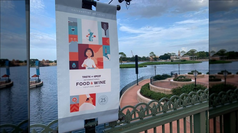 Taste of Epcot sign