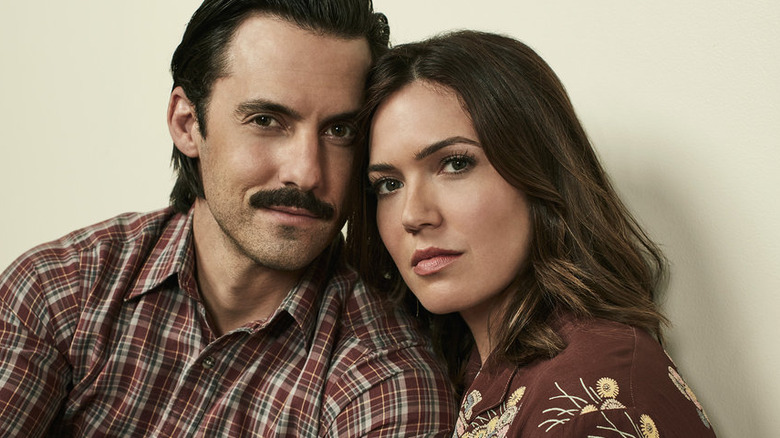 This Is Us character Jack and Rebecca