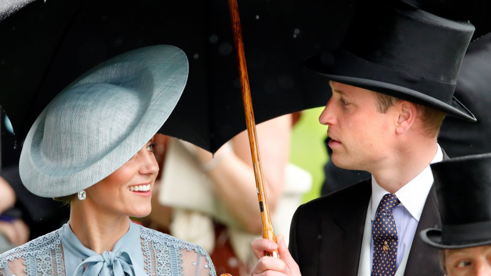 Kate Middleton and Prince William in hats