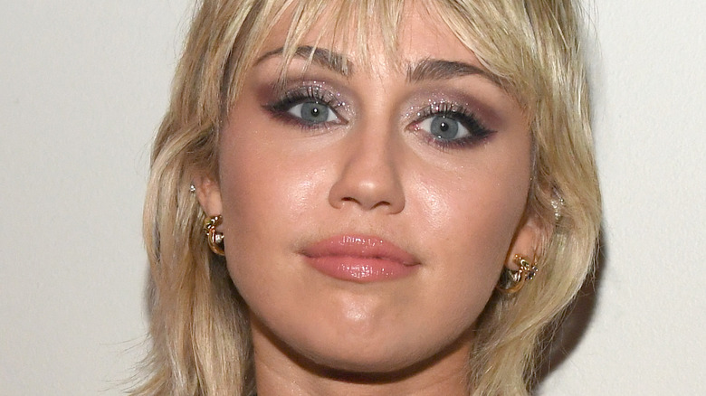 Miley Cyrus at event