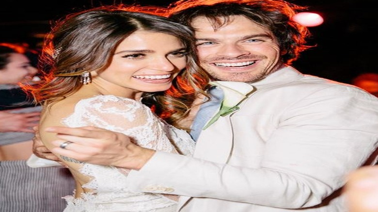 Nikki reed and ian somerhalders wedding instagram junglespirit Gallery