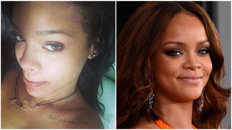 unrecognizable photos of celebs without makeup