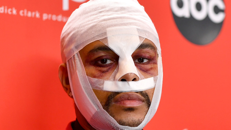 We Finally Know What The Weeknd's Face Bandages Mean