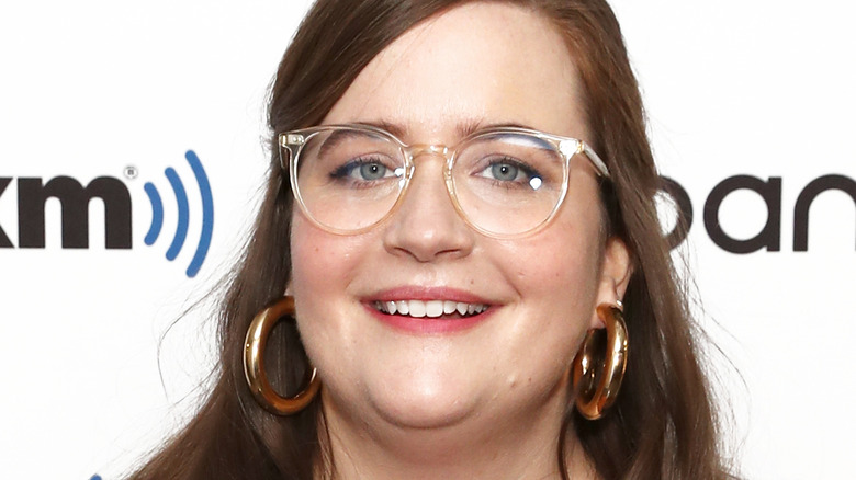 Aidy Bryant at event