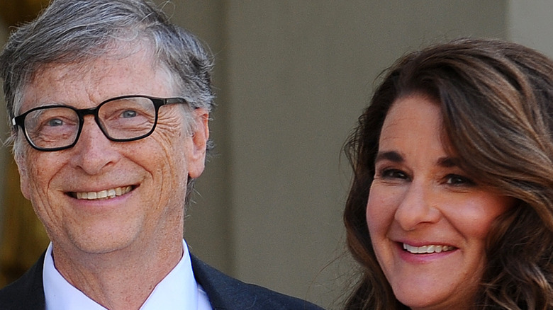 Bill and Melina Gates in France