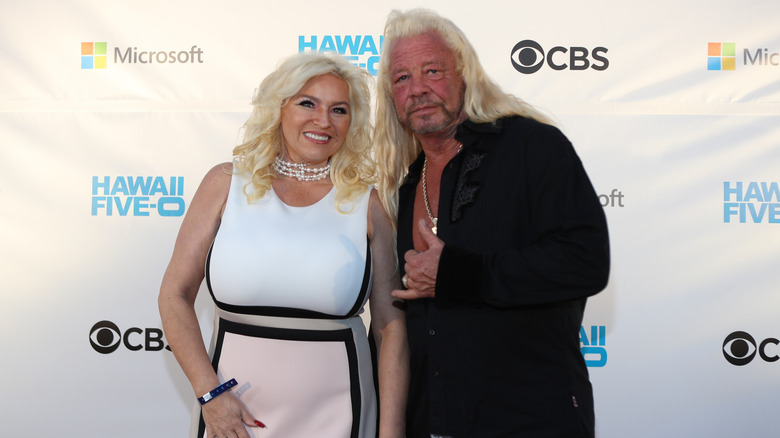 Dog the Bounty Hunter with his wife