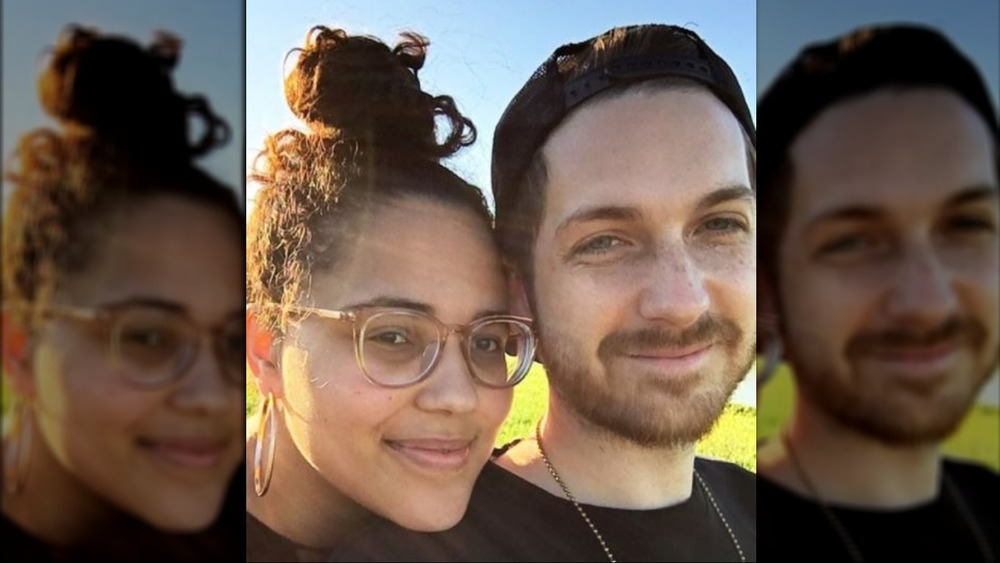 Selfie of Amy and Danny Frishmuth from 90 Day Fiancé