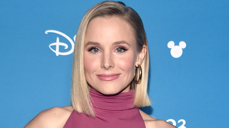 Kristen Bell on the red carpet in 2019