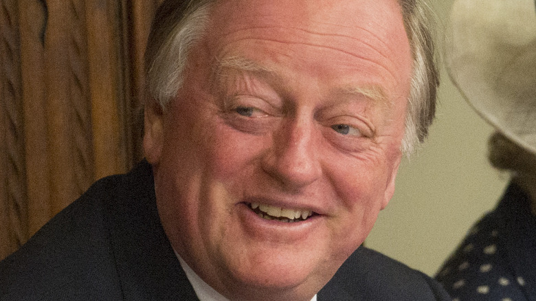 Andrew Parker Bowles close-up