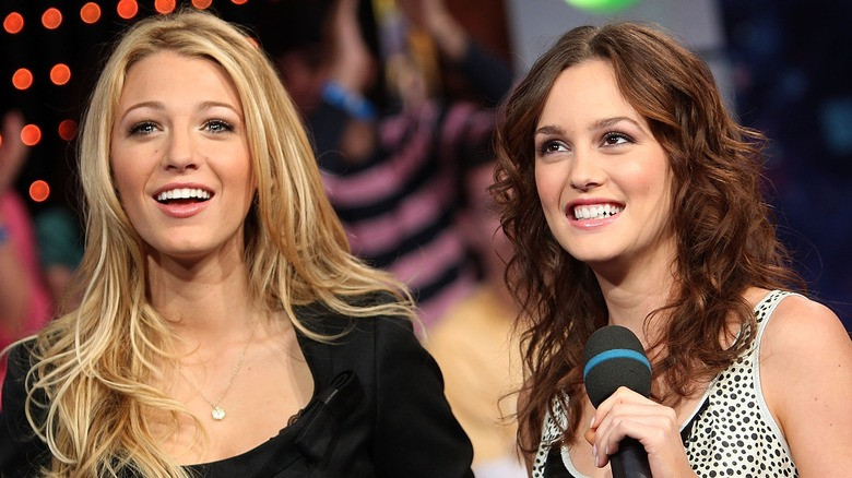 gossip girl blake lively and leighton meester