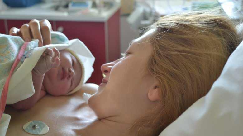 What happens to your body when you're in labor