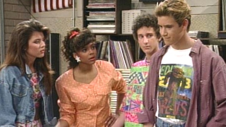 Four castmates of Saved by the Bell