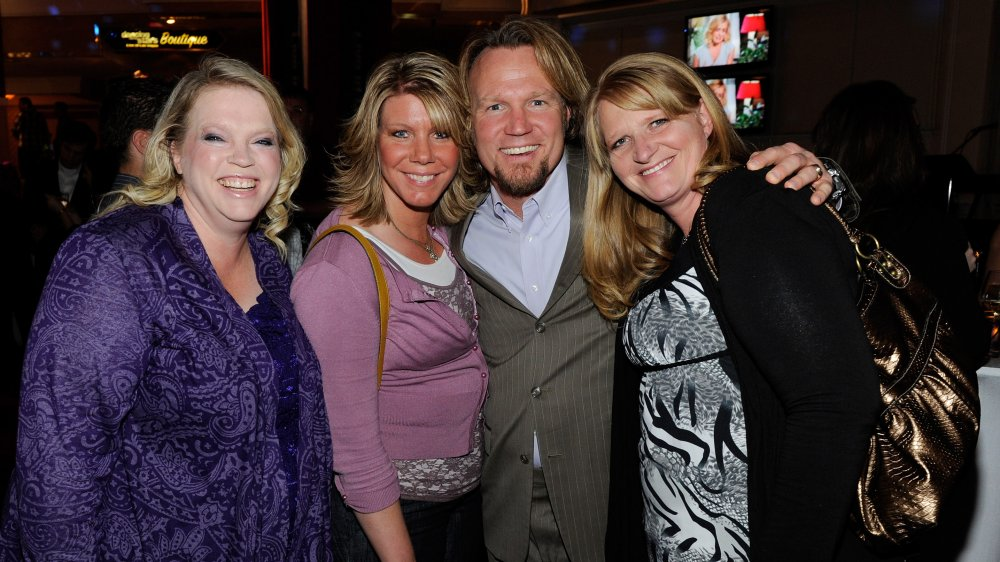 The Brown family, of Sister Wives fame