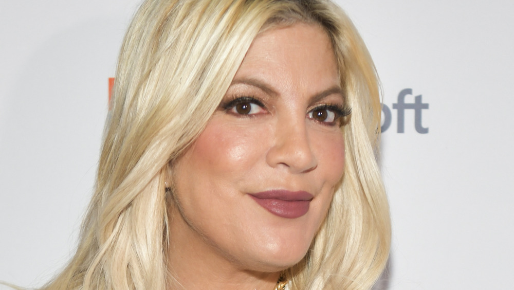 Tori Spelling on the red carpet