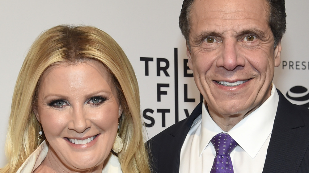 Sandra Lee and Andrew Cuomo smiling together