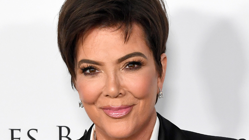 Kris Jenner smiling at event