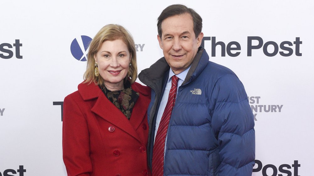 Chris Wallace and his wife, Lorraine Smothers