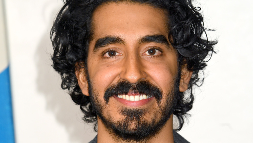 close up of Dev Patel