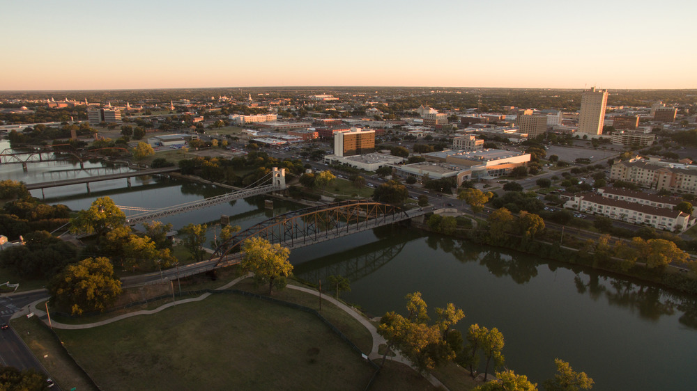 Waco, Texas from above