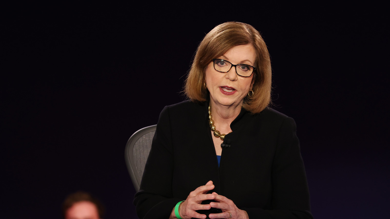 Former debate moderator Susan Page responds to new mute