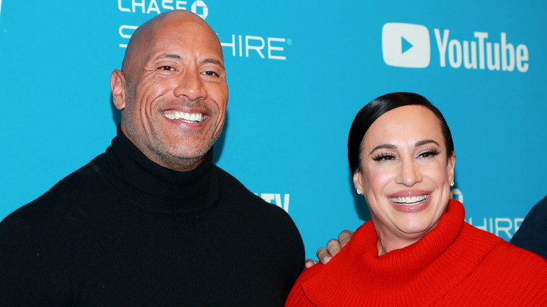 The Rock and Dany Garcia