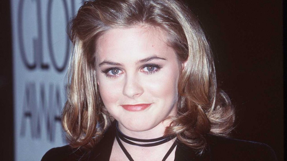 Alicia Silverstone at the 1996 Golden Globe Awards