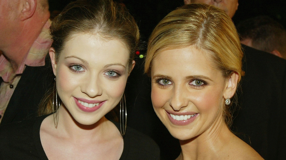 Michelle Trachtenberg and Sarah Michelle Gellar