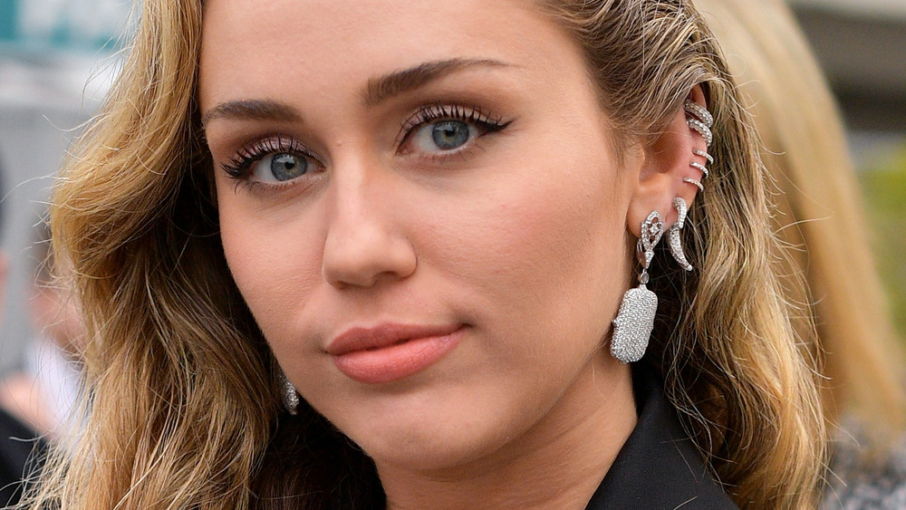 Miley Cyrus on red carpet