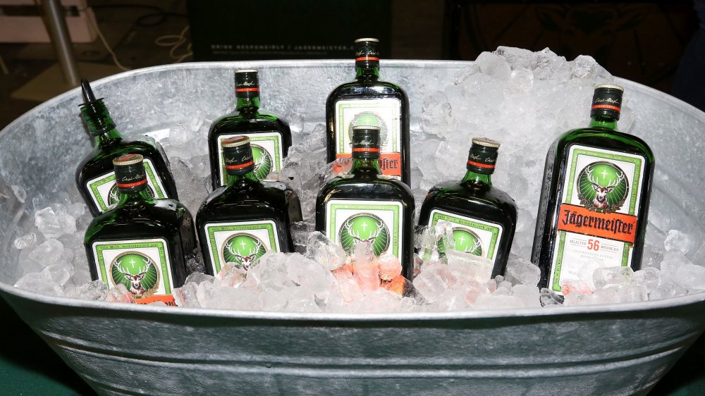 Jagermeister in ice