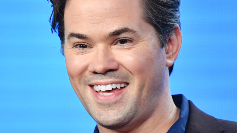 Actor Andrew Rannells smiling