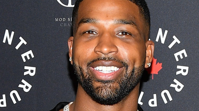 Tristan Thompson at an event
