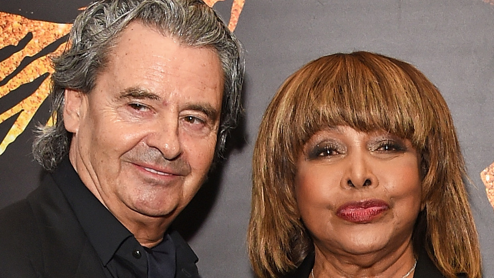 Tina Turner and Erwin Bach at event