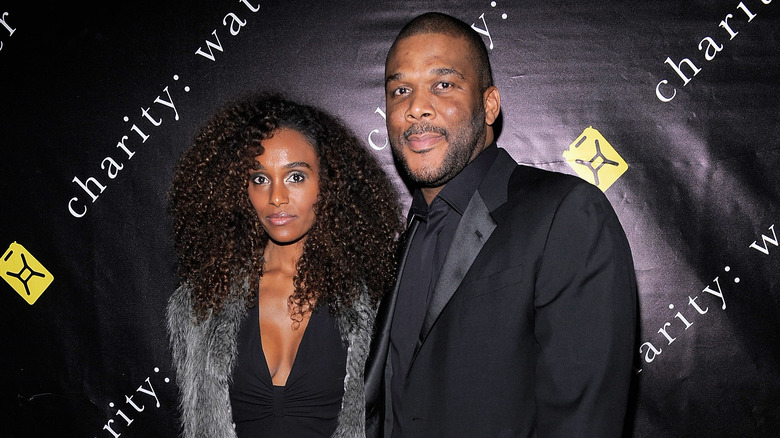Tyler Perry and his girlfriend, model Gelila Bekele