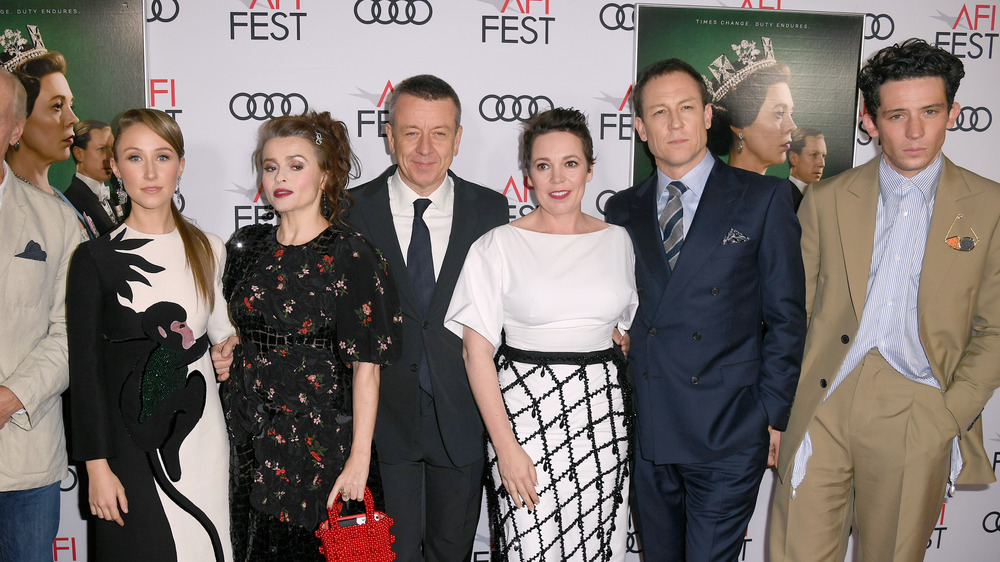 The Crown cast and creator