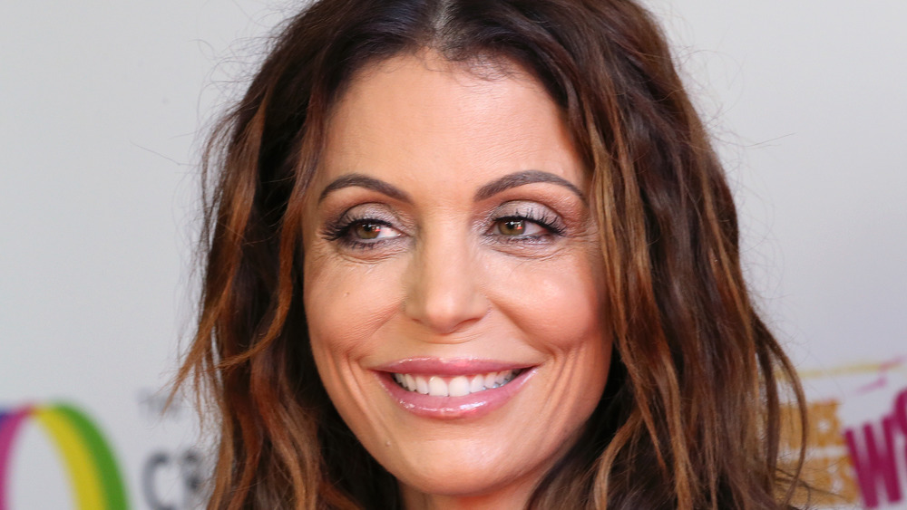 close up of Bethenny Frankel smiling