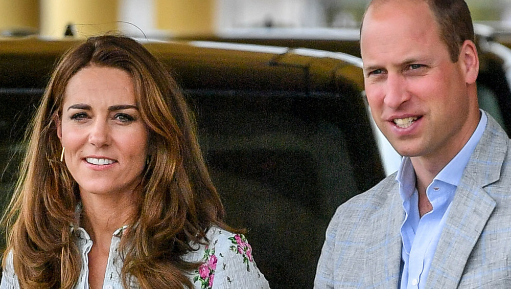 Prince William and Kate Middleton at event