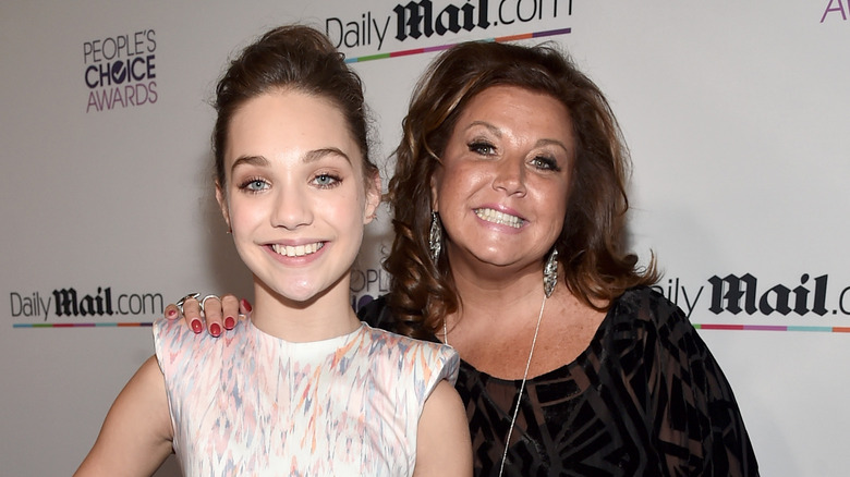 Maddie Ziegler and Abby Lee Miller of Dance Moms fame