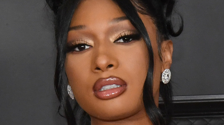 Megan Thee Stallion smizing
