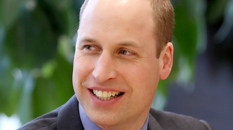 Prince William wearing a suit