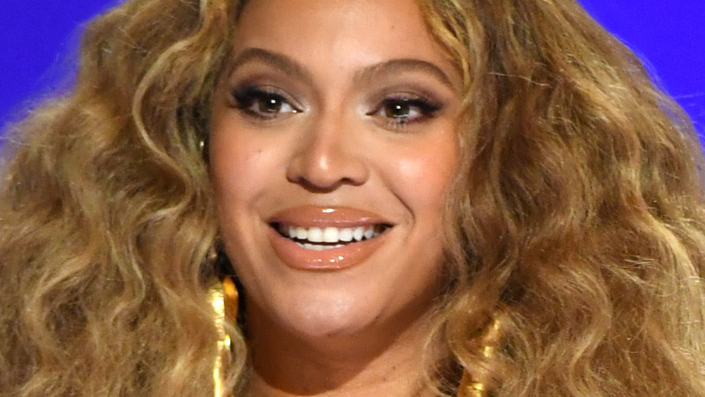Beyonce at the Grammys