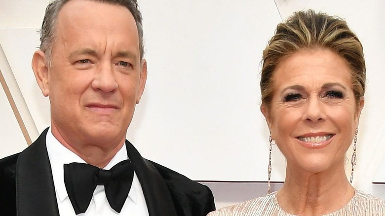 Tom Hanks and Rita Wilson at event